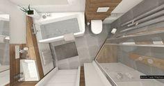 Znalezione obrazy dla zapytania łazienka biało szaro drewniana