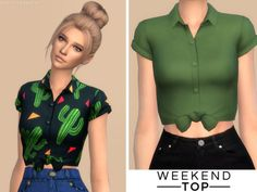 Weekend Top || Christopher067