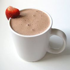 Raw vegan hot chocolate (dairy-free, paleo) – rich, creamy and satisfying.
