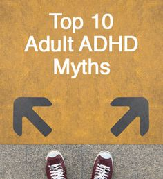 """Myths about ADHD prevent many adults from thinking it could be relevant to them. They miss the chance to explore how their unique brains work and start optimizing their wiring. Adhd Awareness Month, Adhd Help, Adhd Strategies, Psychology Disorders, Mental Conditions, Adhd And Autism, Brain Gym, Adult Adhd, Adhd"