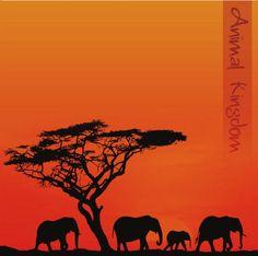 AK lodge  Animal Kingdom 12 x 12 Paper