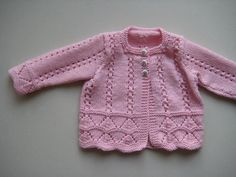 Baby Cardigan Sweater Knitting Patterns Free Knitting Patterns for Baby Sweaters Free Knitting Patterns for Newborn Babies Cardigans Baby Knitting Pat Free Knitting Patterns Uk, Baby Cardigan Knitting Pattern, Knitted Baby Cardigan, Toddler Sweater, Knit Baby Sweaters, Baby Pullover, Knitted Baby Clothes, Knitting For Kids, Baby Knits