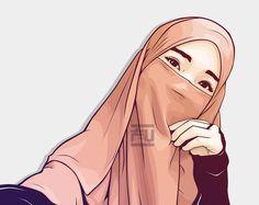 Keterangan foto tidak tersedia. Anime Muslim, Muslim Hijab, Hijabi Girl, Girl Hijab, Kawaii Anime Girl, Anime Art Girl, Muslim Pictures, Dp Pictures, Hijab Hipster