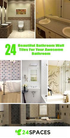 Cool 24 Beautiful Bathroom Wall Design Ideas For Your Incredible Bathroom https://24spaces.com/interior-design/24-beautiful-bathroom-wall-tile-design-ideas-for-your-incredible-bathroom/