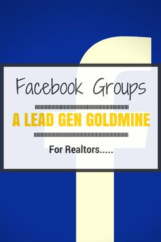 Facebook groups are an absolute goldmine for real estate leads. Check out this cool way to use them.... #realestate #marketing