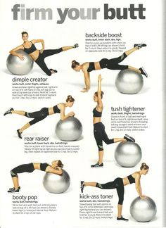 Workout your butt!