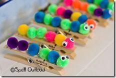butterfly unit activities butterfli, pom poms, unit studies, craft supplies, pom pom crafts, hungry caterpillar, craft ideas, kid crafts, preschool