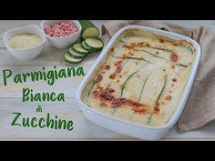 PARMIGIANA BIANCA DI ZUCCHINE Ricetta facile - Fatto in Casa da Benedetta - YouTube Italian Dishes, Italian Recipes, New Recipes, Cooking Recipes, Good Food, Yummy Food, Antipasto, Vegetable Dishes, Carne