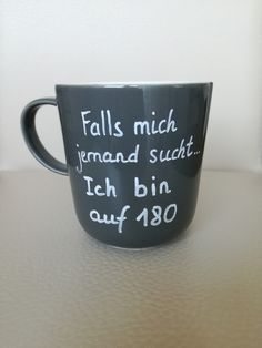 Tasse mit witzigem Spruch Mugs & Cups - Mug with saying funny mug funny saying - a designer piece by