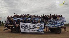 """En Villa Celina, Buenos Aires nace primero """"Río Verde"""" en el año 1995, para años más tarde conocer """"Callejeros"""", banda inicial compuesta por Elio Delgado (guitarra), Maximiliano Djerfy (guitarra), Juan Carbone (saxofón), Christian """"Dios"""""""
