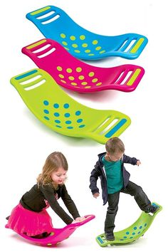 How fun would this be in the classroom on a cold or rainy day. Teeter Popper: The Name Says It All. Pop And Rock While Sitting, Standing, Twisting, Wobbling And More. Toddler Fun, Toddler Activities, Vestibular Activities, Sensory Kids, Sensory Rooms, Baby Kids, Baby Boy, Carters Baby, Gross Motor