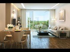 Không gian sống đẳng cấp- Thiết kế và thi công nội thất chung cư Ecopark...