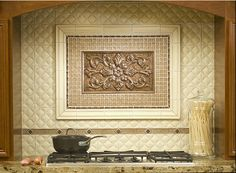 Kitchen Backsplash Medallions kitchen renovation.love this. | kitchen inspirations