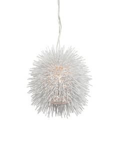 Ecomoods 1 light pendant light 40341 philips luminaires sea urchin mini 1 light pendant white finish mozeypictures Images