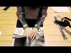 Návod na ušítí kabelky část 2. - YouTube Youtube, Purses, Bags, Sewing, Handbags, Handbags, Dressmaking, Couture, Stitching