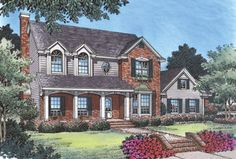 House Plan chp-16381 at COOLhouseplans.com