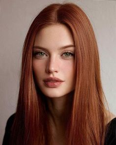 Red and Strawberry Blonde Bob - 60 Trendiest Strawberry Blonde Hair Ideas for 2019 - The Trending Hairstyle Hairstyles For Round Faces, Straight Hairstyles, Cool Hairstyles, Hair Color Auburn, Red Hair Color, Auburn Hair, Color Red, U Cut Hairstyle, Curly Hair Styles