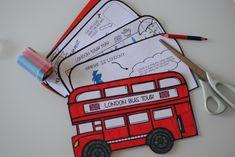 London Bus Tour Minibook: esploriamo insieme la capitale del Regno Unito - Jack Potato
