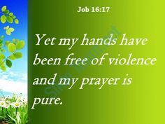 job 16 17 my hands have been powerpoint church sermon Slide03  http://www.slideteam.net/