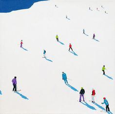 """""""Frozen Planet 01,"""" original figurative painting by artist Stephanie Ho (UK) available at Saatchi Art #SaatchiArt."""