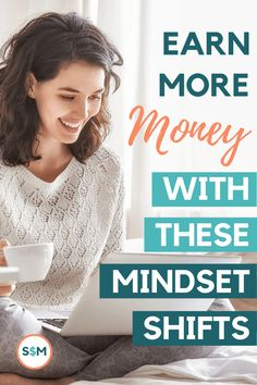 5 Mindset Shifts to Help You Earn More Money Earn More Money, Make Money Fast, Make Money Blogging, Money Tips, Saving Money, Finance Organization, Money Affirmations, Saving For Retirement, Budgeting Tips
