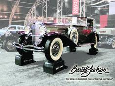 Barrett Jackson Car Show.. 1930 Duesenberg Sold for $1,045,000