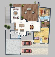 Constructeur maison moderne Auray Morbihan 56 | Depreux Construction