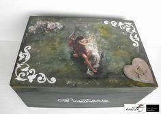 Fb:evarte χειροποιητες δημιουργιες Decoupage, My Arts, Cover, Art Work, Handmade, Painting, Vintage, Artwork, Work Of Art