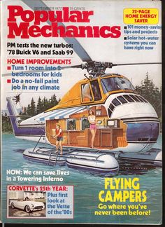 A cover gallery for Popular Mechanics Future Vision, World Of Tomorrow, Futuristic Art, Popular Mechanics, Science Fiction Art, Dieselpunk, Cover, Sci Fi, Caravan