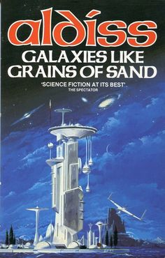 VINCENT DI FATE - Galaxies like Grains of Sand by Brian Aldiss - 1985 Granada Books