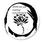how-are-you-treating.png  Round Car Magnet Guru Swami G