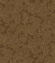 Upholstery Fabric-Waverly Merletto/Espresso