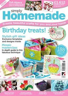 Simply Homemade 14  The UK's favorite multi-craft magazine, packed with ideas and crafty inspiration for you and your home.