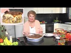 Moussaka, Greek Recipes, Food And Drink, Cooking Recipes, Ethnic Recipes, Youtube, Vintage, Chef Recipes, Greek Food Recipes