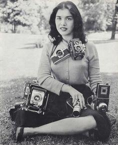 Camera Girl, ca. 1950s