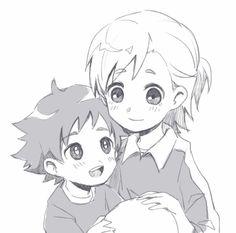 Litle Boy, Inazuma Eleven Go, Emoji, Ships, Manga, Couples, Girls, Cute, Anime