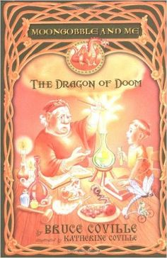 The Dragon of Doom (Moongobble and Me) by Bruce Coville, Katherine Coville.  First book in a series about a boy who is the assistant to a magician.