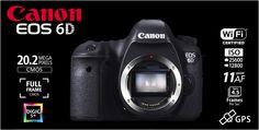CANON EOS 6D Body built-in Wifi and GPS Rp.17.305.000.- | Bonus Battery LP-E6 + Backpack Berlaku s/d 11 Agustus 2013