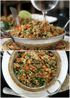Paleo Masala Cauli-Rice (Grain Free, Vegan, Dairy Free, Egg Free, Nut Free)