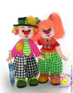 Купить Крош и Барбариска. - авторская ручная работа, авторские украшения, кукла ручной работы