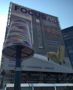 The lampshades are up! #Focus16 is just around the corner with a brand new look. Register today www.dcch.co.uk/Focus16-Registration