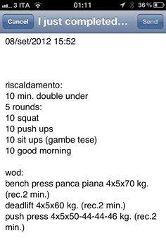 anche oggi un bell'allenamento di forza ... mi è piaciuto :-))