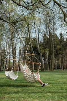Czech designer Linda Vrňáková raises the relaxation quotient of the hammock with Swingy - News - Frameweb