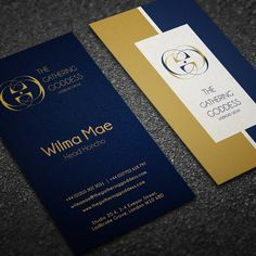 Material design business card for a tech startup by dbdesign land design business card for luxury vintage fashion brand by xbobo reheart Image collections