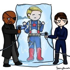 Somebody did the thing!! << It was probably Coulson lol