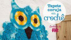 Tapete coruja em crochê (Diane Gonçalves)