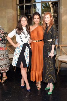 Katie Lowes, Bellamy Young and Darby Stanchfield at the 2014 CFDA/Vogue Fashion Fund Show