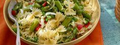 Get Spinach Artichoke Pasta Salad Recipe from Food Network Spinach Artichoke Pasta, Asparagus Pasta, Asparagus Recipe, Zucchini Pasta, Fresh Salad Recipes, Healthy Salad Recipes, Vegetarian Recipes, Fancy Salads, Summer Pasta Salad