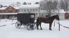Before you end your drive, make a stop at your favorite Amish restaurant―or even Ohio's oldest general store, (pictured. Amish Restaurant, Holmes County, Amish Country, General Store, Ohio, Road Trip, Places To Visit, Journey, Horses