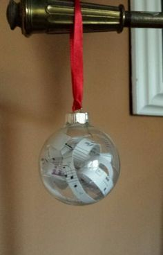 Glass Music Musical Note Christmas Tree Handmade Hanging Ornament NEW Teacher. BUY it now at sss.sophiesatticonline.biz